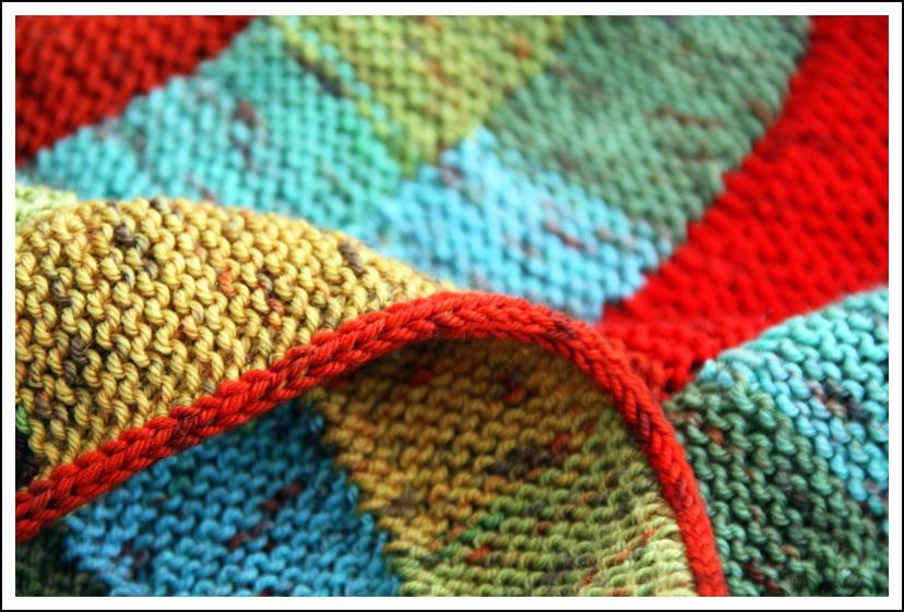 Babydecke: Ten Stitch Twist | Mairlynd