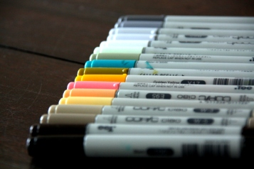 my COPIC markers