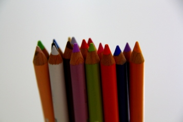 my prismacolor pencils