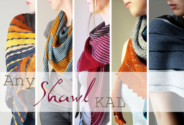 Any Shawl KAL